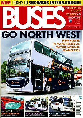 BUSES 773 AUG 2019 London,GO NORTH WEST,Cross-Country Cuts,Clean Air,Delaine Mus