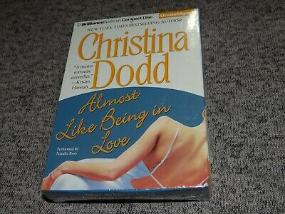 Almost Like Being in Love by Christina Dodd UNABRIDGED 9 CD Audiobook NEW+SEALED