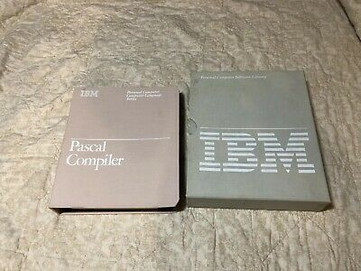 IBM PC - Pascal Compiler - First edition August 1981 - Binder and Cover