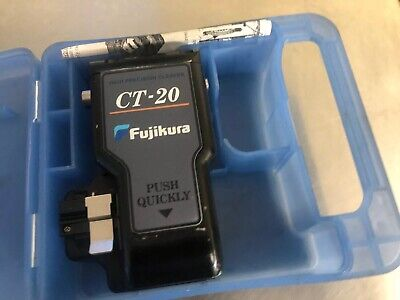 Fujikura CT-20 Ribbon Fiber Cleaver High Precision Single  CT20 CT-20-12 CT 20