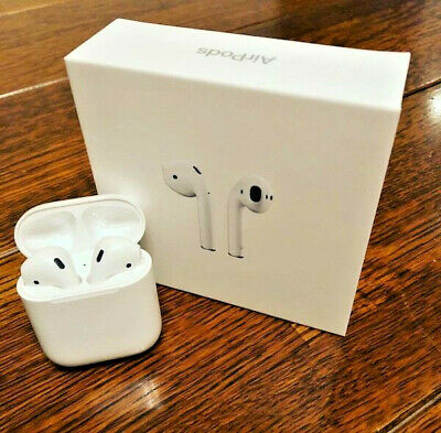 Apple AirPods with Charging Case White MMEF2AM/A Airpod 1st Gen Headphones OEM!