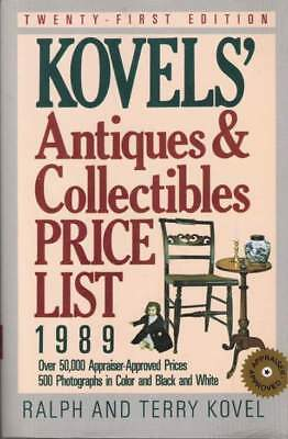 Kovels' Antiques & Collectibles Price List 1989