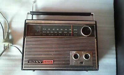 Retro Sony Vintage 11 Transistor Radio Model 7F-88W