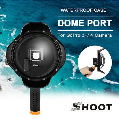 SHOOT Dome Port For GoPro 3+/4 Go pro Accessories Underwater Photograph