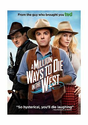 A Million Ways to Die in the West (DVD, 2014, Widescreen) Seth MacFarlane