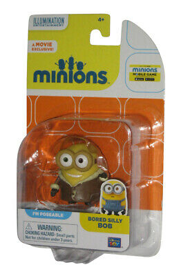 Minions Movie Bored Silly Bob Poseable Figure ~NEW~