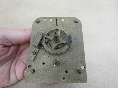Vintage Coventry Astral Ships Clock Movement For Spares Or Repair