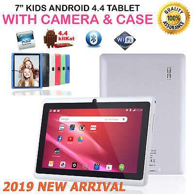 7 INCH KIDS ANDROID 4.4 TABLET PC QUAD CORE WIFI Camera UK SHIP CHILD CHILDREN