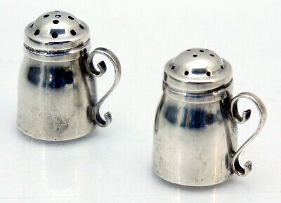 Sanborns Mexico Sterling Silber Salz & Pfefferstreuer Salt & Pepper Shaker 30 gr