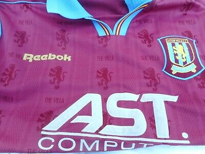 Aston Villa 1995-97 Home Football Shirt