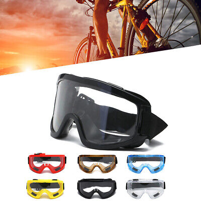 Clear Lens Protective Safety Glasses Eye Protection Goggles Lab New