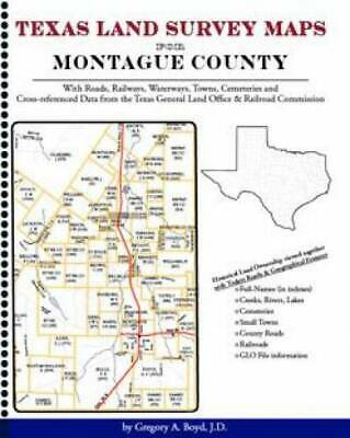Texas Land Survey Maps for Montague County