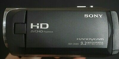 Sony HDR-CX405 FULL HD (60x Zoom) Camcorder (1080p 50FPS)