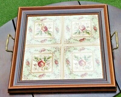 Victorian Tiled Serving Tray