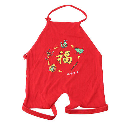 Chinese Style Bellyband Belly Pockets Apron Baby Pure Cotton Clothing Bibs Z