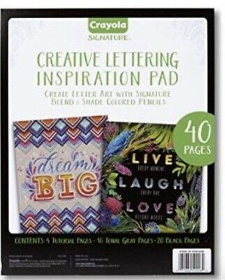 Crayola Chalkboard Hand Lettering Tutorials & Worksheets For Beginners, Easy 40