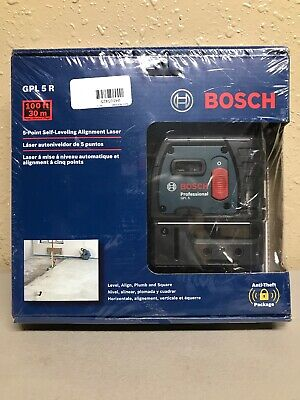 Bosch 5-Point Self-Leveling Alignment Laser GPL5R Brand New