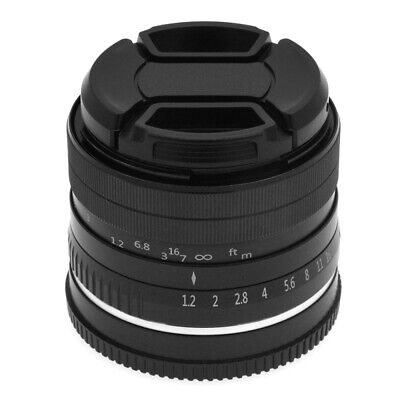 35mm F1.2 Large Aperture Prime APS-C Lens for Sony E Mount Mirrorless Camera