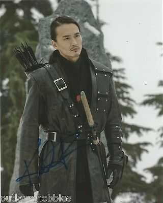 Karl Yune Arrow Autographed Signed 8x10 Photo COA