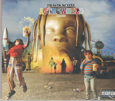 Travis Scott - Astroworld [CD] Explicit PA New & Sealed