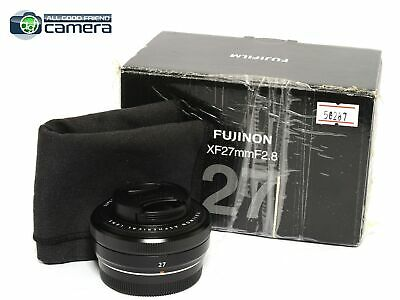Fujifilm FUJINON XF 27mm F/2.8 Lens Black *MINT- in Box*