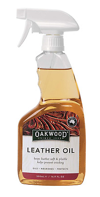 Oakwood Leather Oil One Colour, 500 ml
