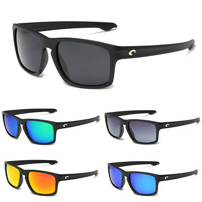 Mens COSTA Reefton Sport Polarized Sunglasses Mirrored Fishing Surf Sun Glasses
