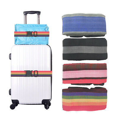 Luggage Strap Belt Cord Outdoor Travel Packing Belt Suitcase Bag Strap 1.8M q2w