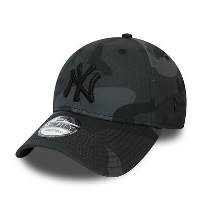 New Era New York Yankees Baseball Cap.9Forty Mlb Cotton Camo Essential Hat 9S2 3