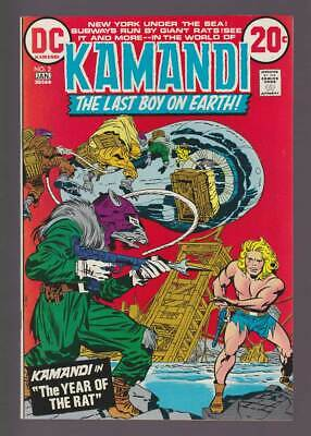 Kamandi #2  The Year of the Rat !  grade 9.0 scarce book !