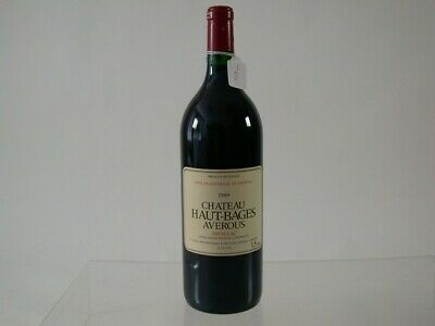 Wein Rotwein Red Wine 1989 Chateau Haut Bages Averous Pauillac 1,5L 811/8