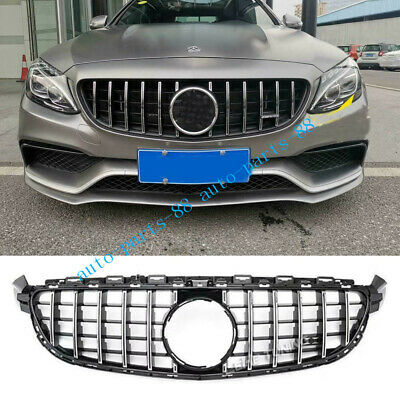 Front Bottom Grill Grid Grille Cover Trim For Mercedes Benz GLE Coupe C292 15-16