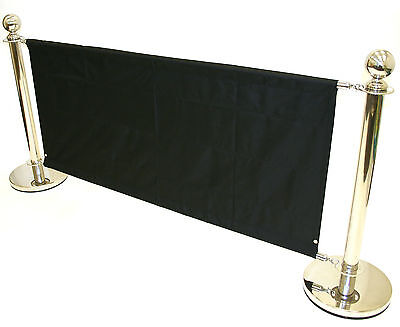 BS17Q Cafe Barrier sets with banners, Shop Advertising Signs, Pub Barrier Sets