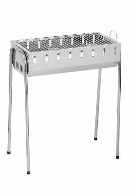 Grille Grill Chachlik Mangal Barbecue Charbon Acier+8 Brochettes