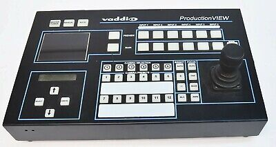 Vaddio ProductionVIEW Video Camera Controller Switcher 999-5000-000