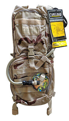 Camelbak Ambush 100oz 3L Desert Camo Backpack Pack Omega 100oz 3L Water Bladder