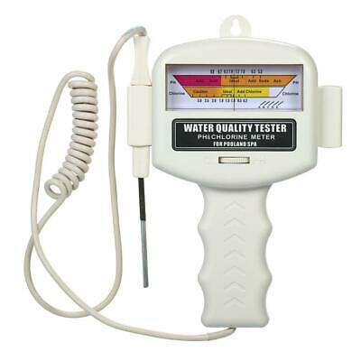 Swimming Pool Water Quality Tester Digital PH Chlorine Gas Pen Meter Detector
