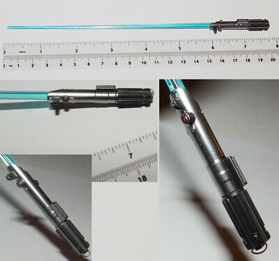 1/6 scale Hot Toys blue lightsaber Star Wars highly detailed