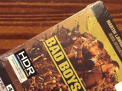 BAD BOYS I & II   4K UltraHD  Limited Steelbook Edition [ USA ]