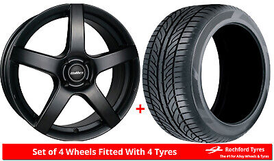"""Alloy Wheels & Tyres 16"""" Calibre Pace For Ford Tourneo Courier 14-19"""
