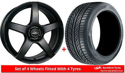 """Alloy Wheels & Tyres 16"""" Calibre Pace For Dacia Dokker 13-19"""