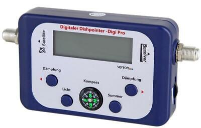 Venton Dishpointer Digi Pro Satfinder digitales Satelliten Messgerät Satfinder