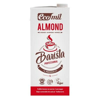 Ecomil Organic Almond Barista 1L (Pack of 6)