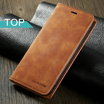 Luxury Leather Stand Flip Wallet Card Cover Case for Samsung Galaxy A20e A10 M10