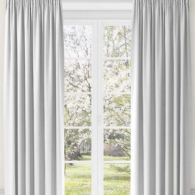 Blackout Curtain Linings Ready Made Tape Top Thermal Pleat Curtains Liners Pairs