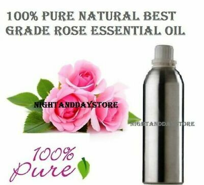 Rose Essential Oil Pure Natural Organic Therapeutic Aromatherapy ( 5ml -500ml )