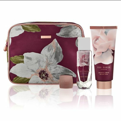 New Ted Baker Collection Ladies Gifts Sets Birthday Gift Wash Bag UK