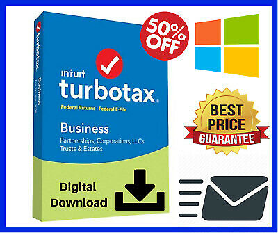 TurboTax Business 2018 For Windows Version Email Delivery