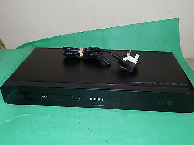 PHILIPS BLU-RAY DVD Disc Player BDP3000 Black Working