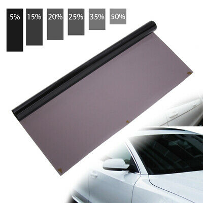 Foils 15% 20% 25% 35% 50%VLT  Glass Sticker Car Window Tint  Sunshade Film